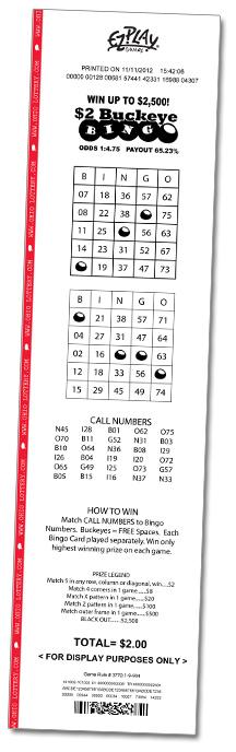 Keno ohio hot numbers