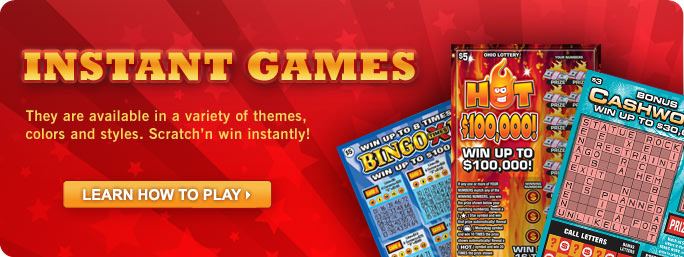 Instant games the ohio lottery games sciox Image collections