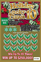 Holiday Lucky Times 10 ticket image