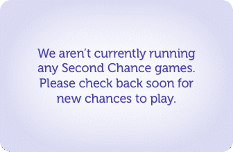 Sorry, there are no currently active second chance promotions.