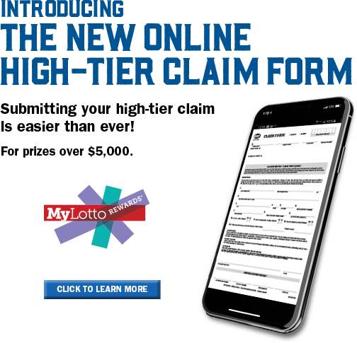 Introducing the High Tier Claim Form from The Ohio Lottery