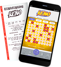 Keno Ticket and App