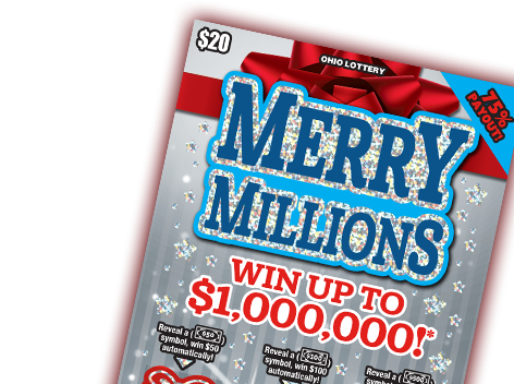 Merry Millions Scratch-Off
